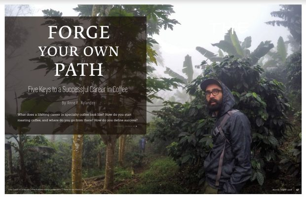 Forge Your Own Path: Five Keys to a Successful Career in Coffee