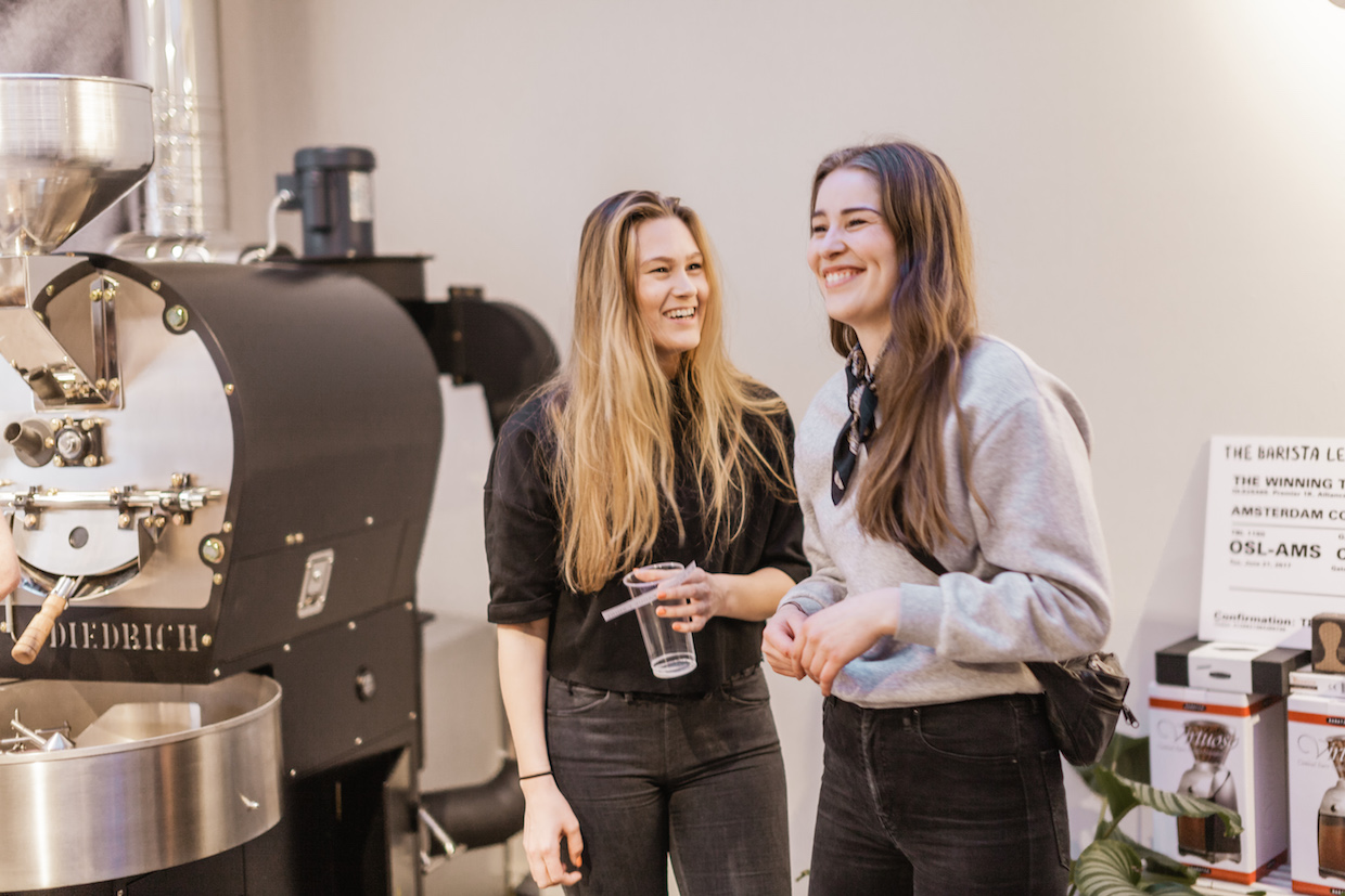 barista league coffee competition and tour