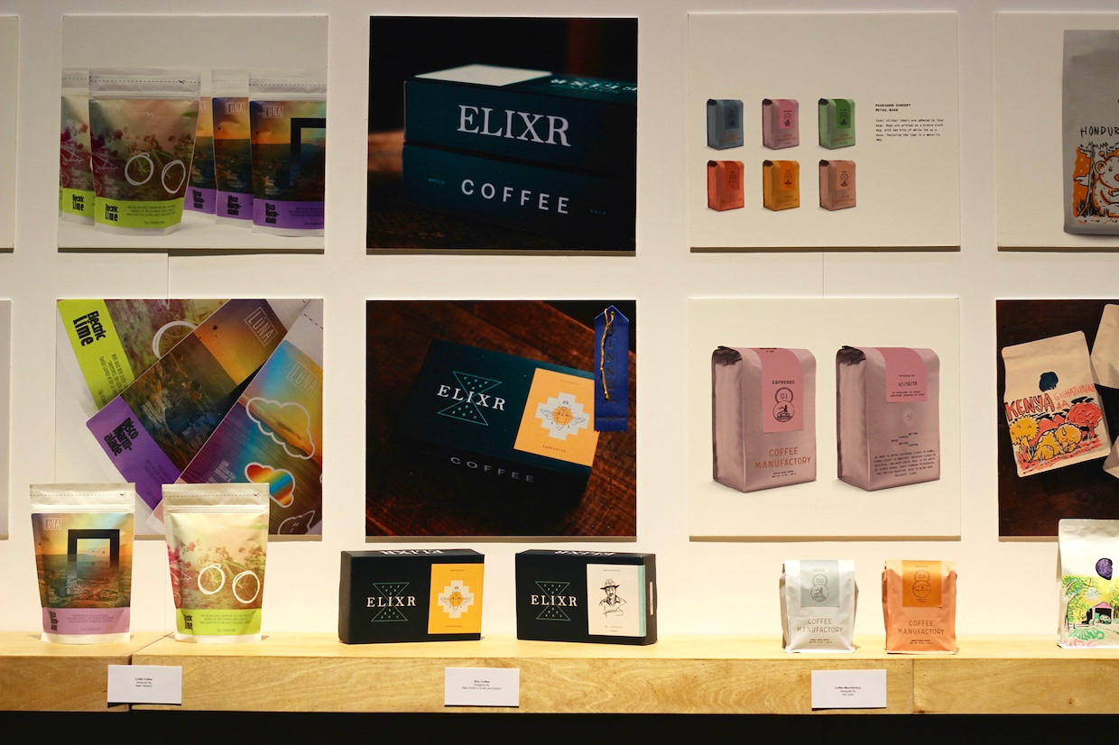 Elixr coffee packaging