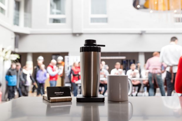 The New SteepShot Brewer From Norway Handles the Pressure