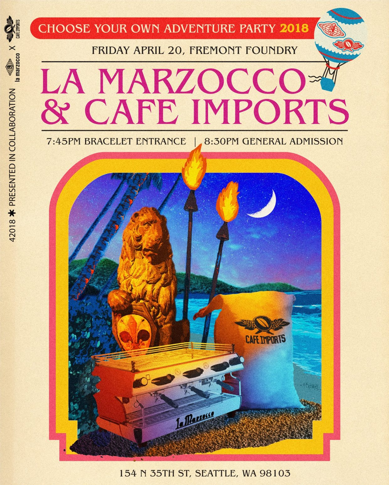 Cafe Imports and La Marzocco