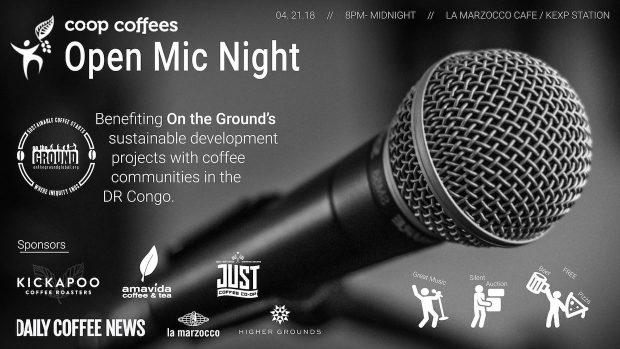 Coop Coffees' Open Mic Dropping in Seattle During SCA Expo
