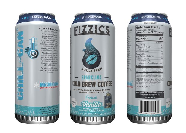 7-Eleven Testing Self-Chilling Cans with Fizzics Sparkling Cold Brew Line