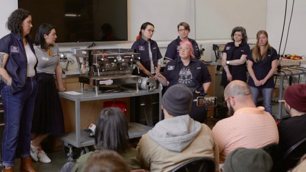 'Hope for the Future' at the Women-Led Coffee Technicians Workshop in Seattle