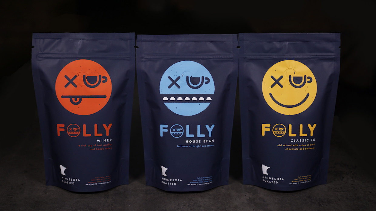 Folly Coffee roasters Silver Lake Minnesota