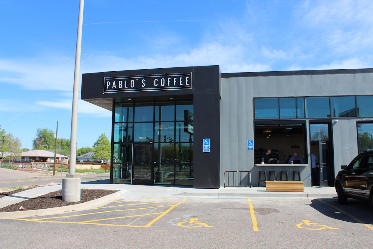 Pablos Coffee Colfax Denver Colorado roaster