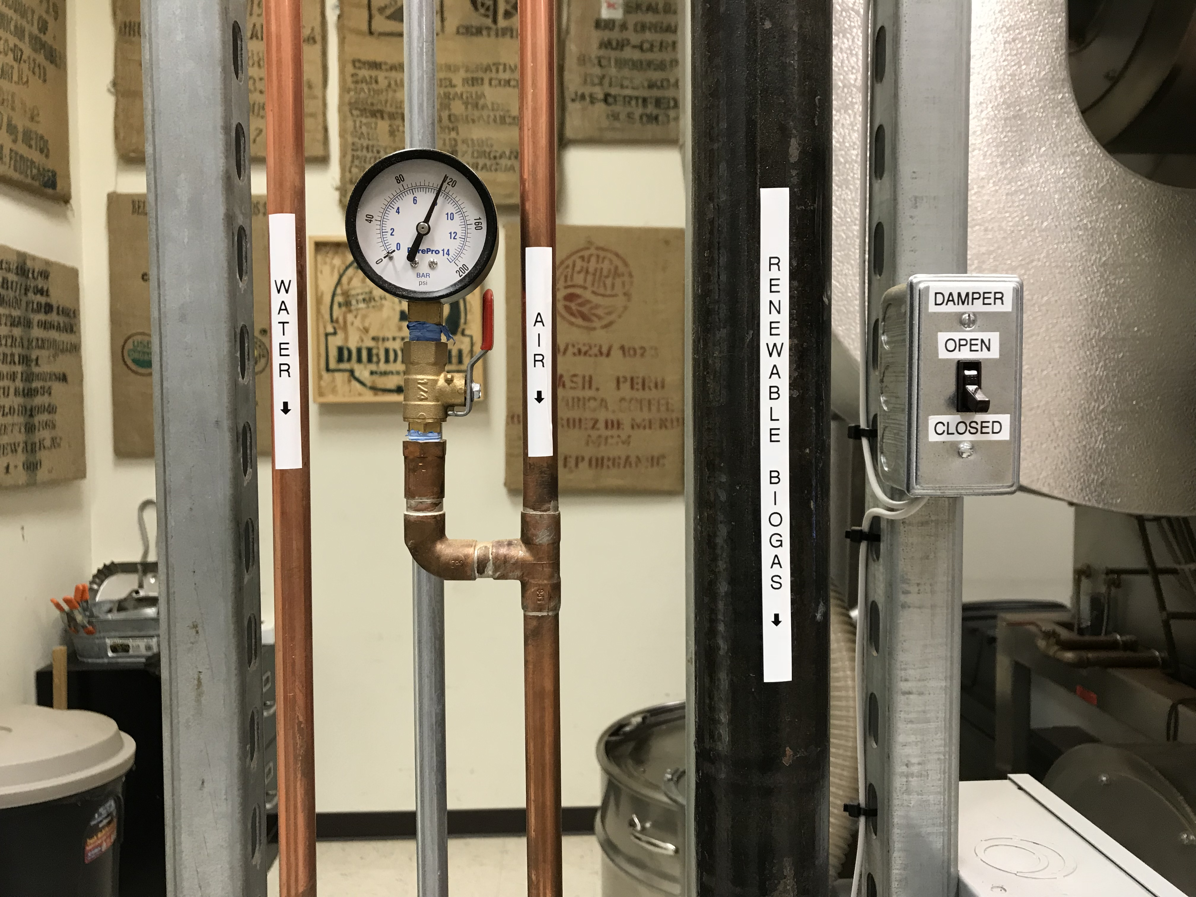 Vermont Coffee Company Converts to 100 Percent Biogas for