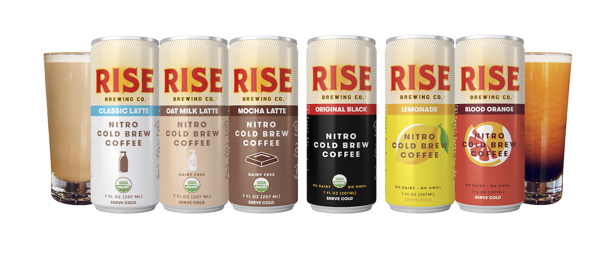 Rise coffee brewing product line