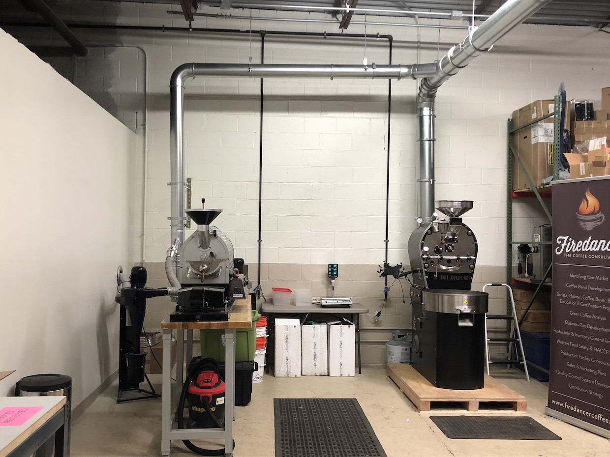 Firedancer Coffee Consultants lab classes roasting Chicago