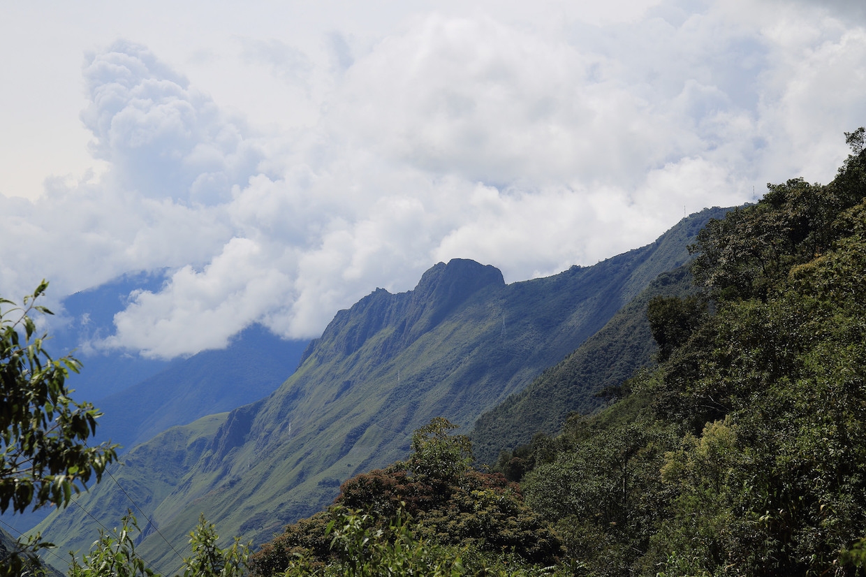 Peru Andes Mountains coffee highlands