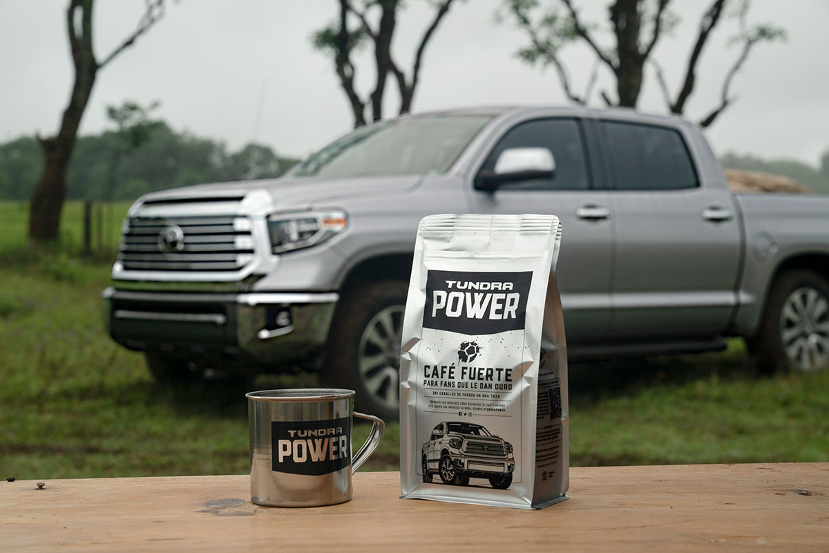 Toyota Tundra world cup mexican coffee