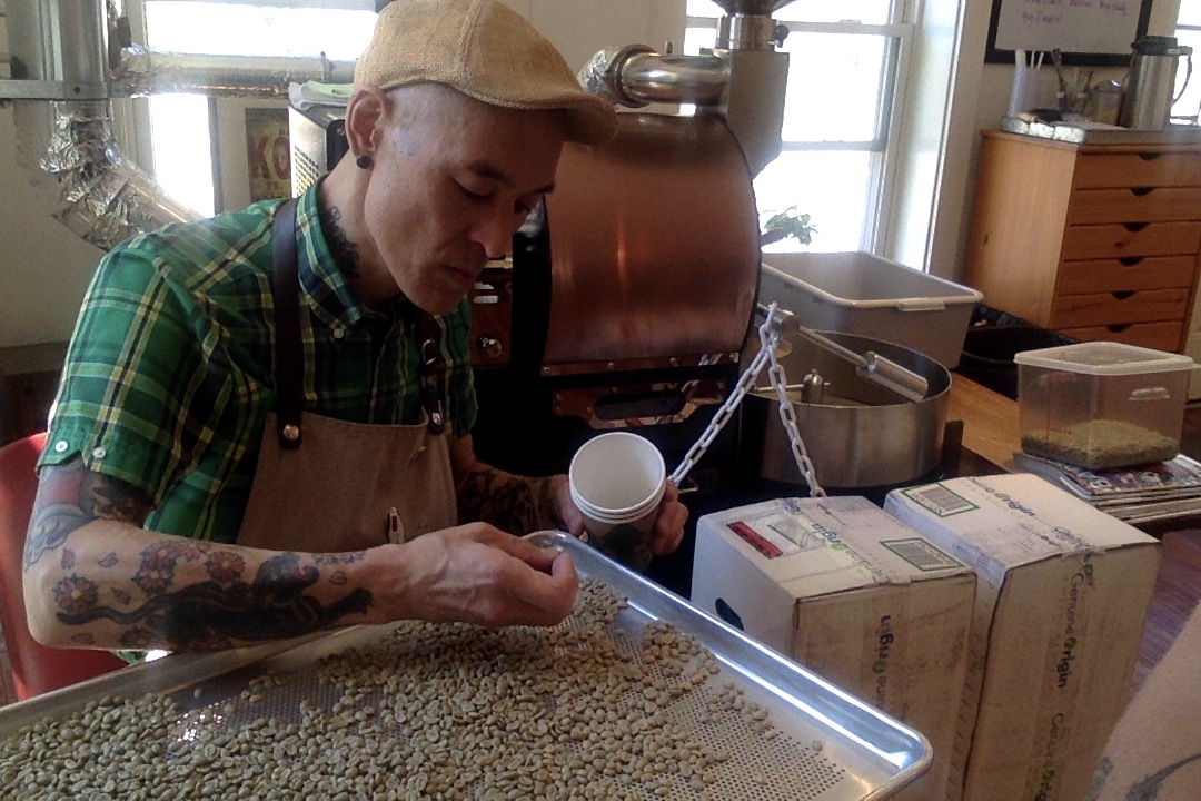 Nori Kozuma coffee roaster