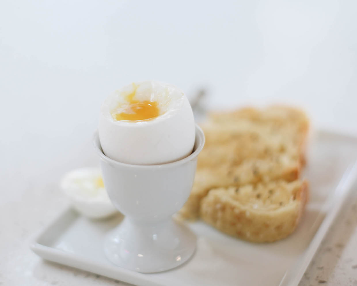 Soft Boiled Egg and toast