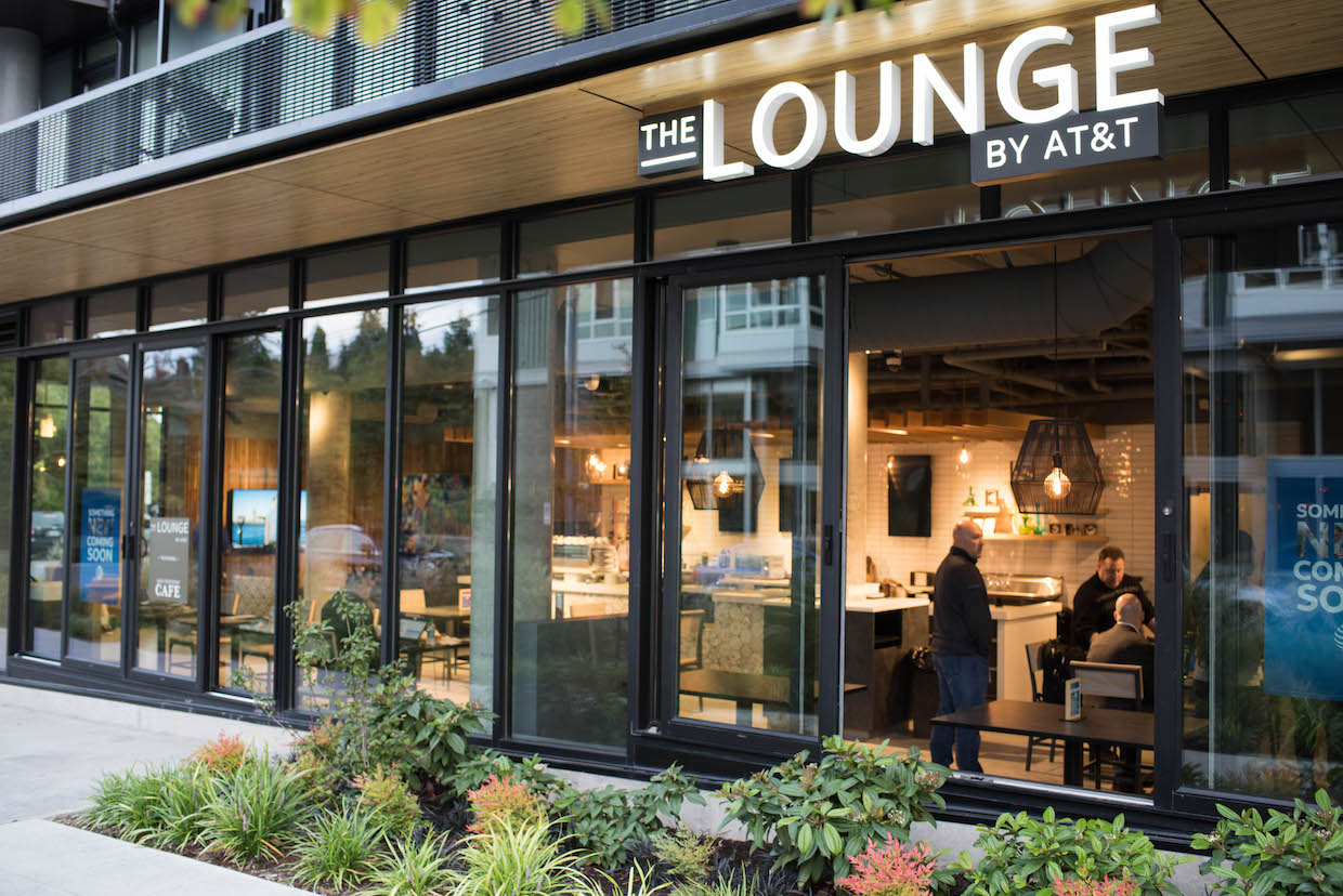 The Lounge Exterior Completed 01