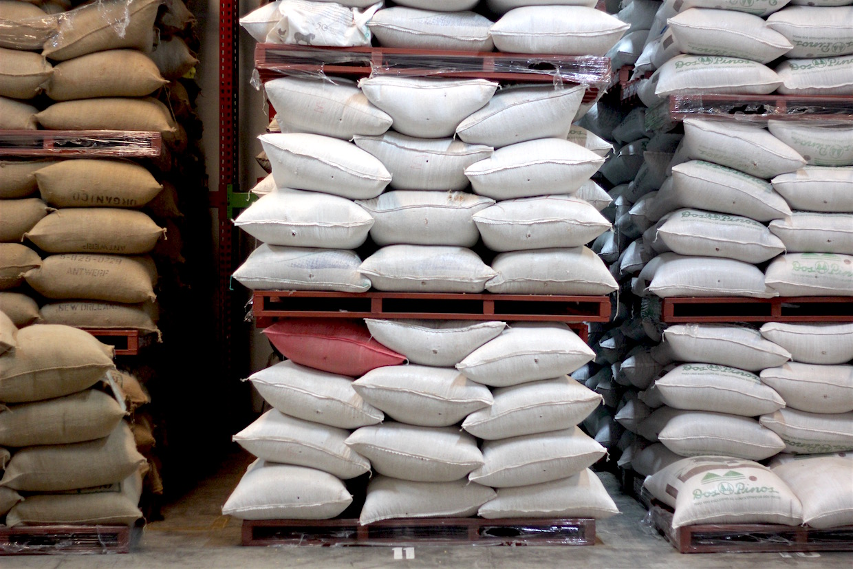 coffee sacks warehouse
