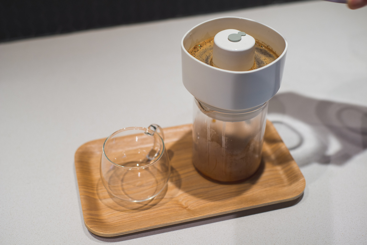 The FrankOne coffee brewer