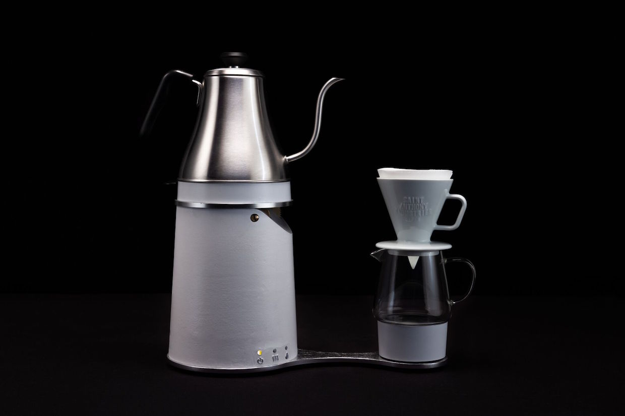 Automatica coffee pourover brewer