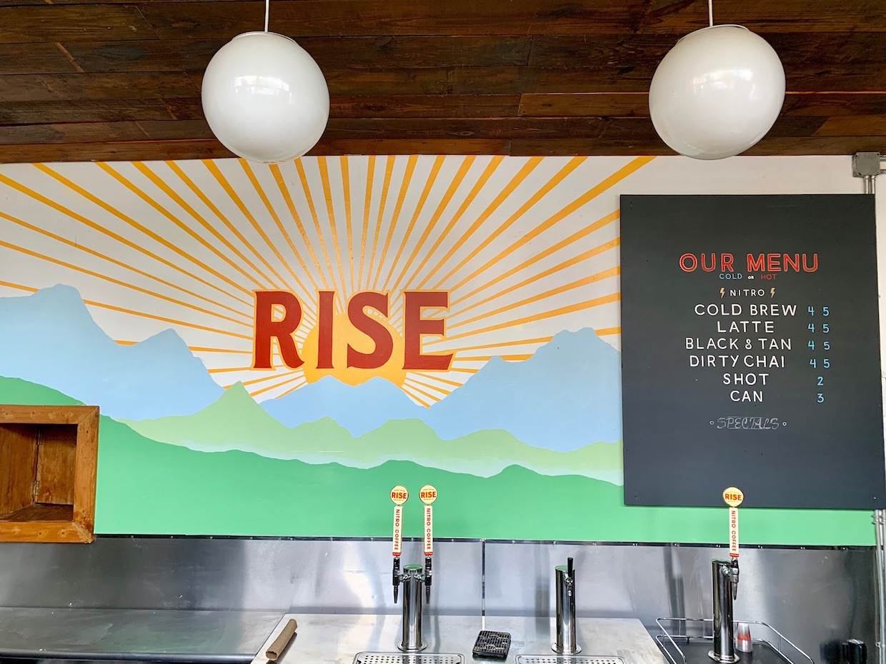 Rise cold brew nitro New York