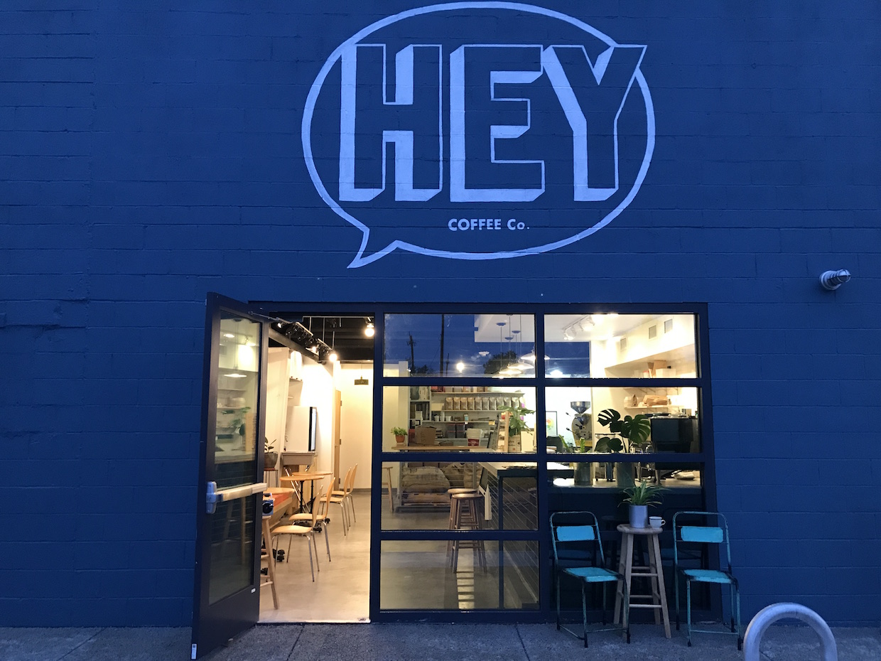 HEY Coffee New Orleans coffee roaster cafe