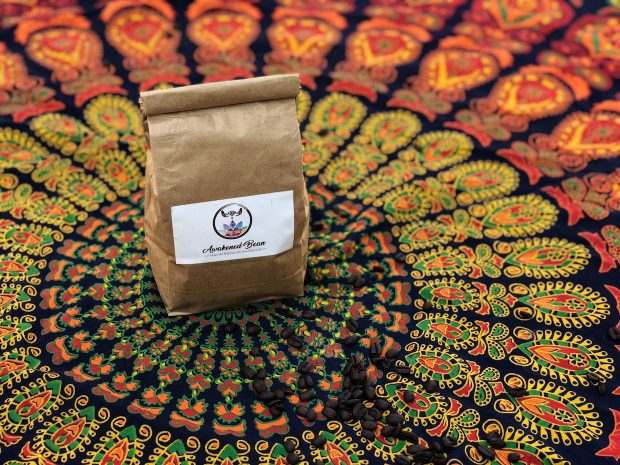 Awakened Bean Keeps Coffee Vibes Positive With Mantras and Crystals