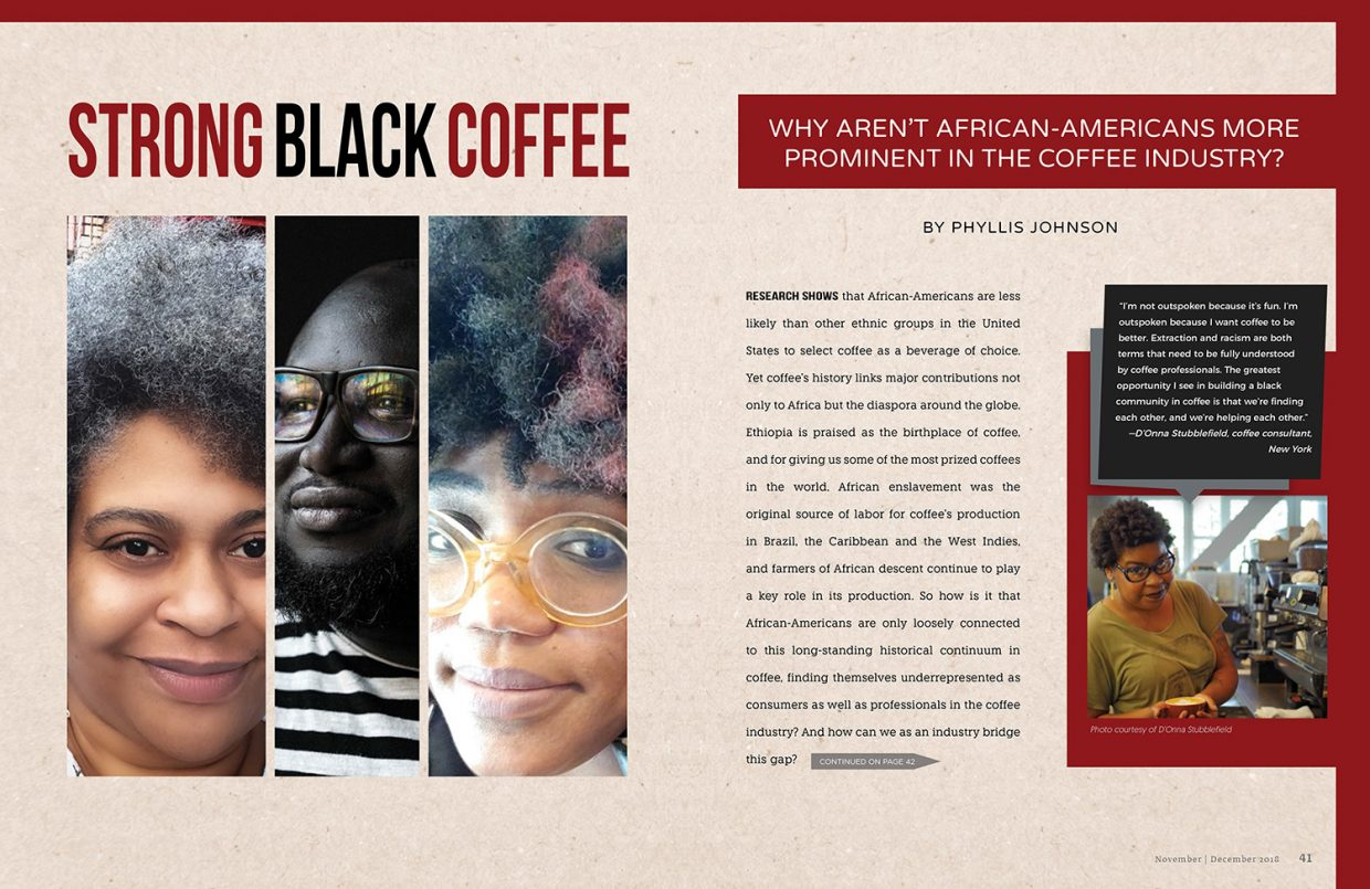 12af4621c29e Strong Black Coffee  Why Aren t African-Americans More Prominent in the  Coffee Industry