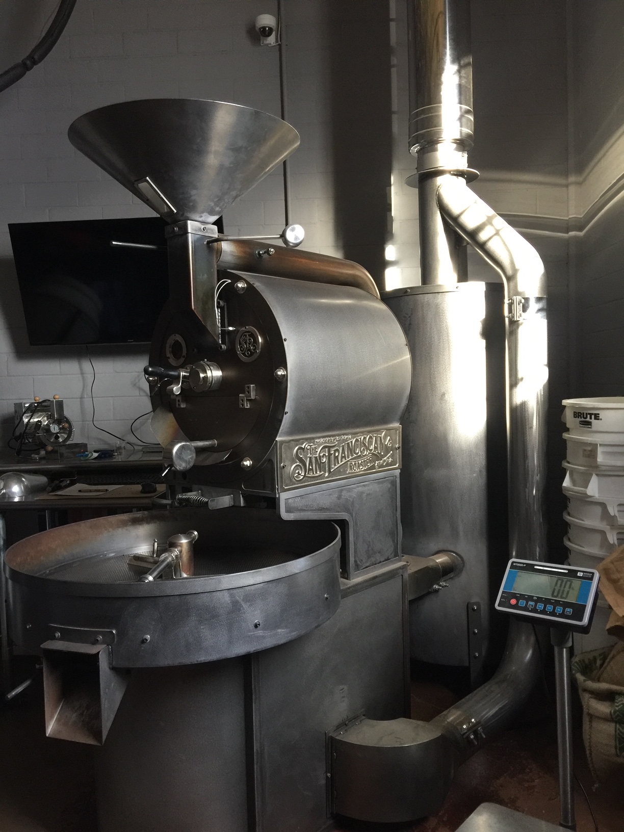 San Franciscan roaster natural finish
