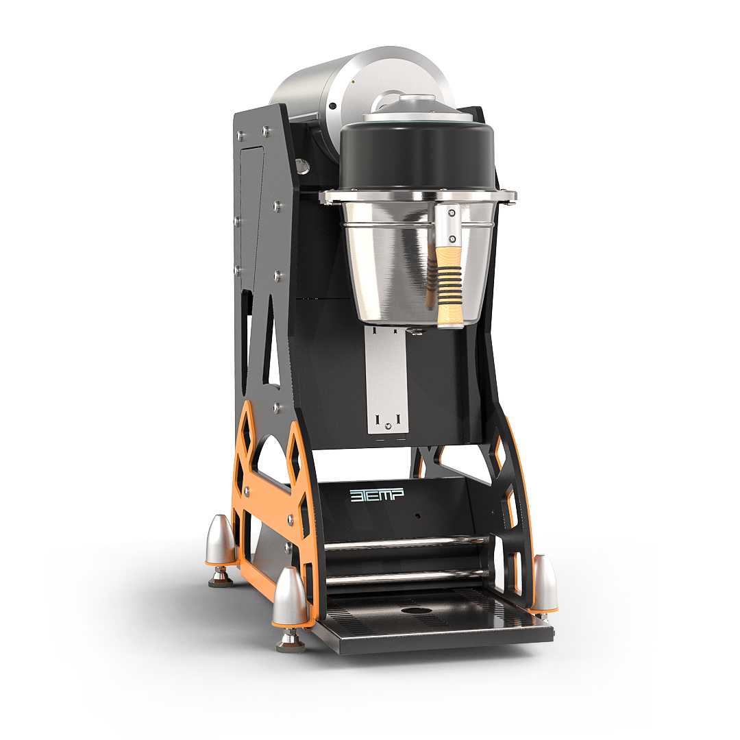 Hipster coffee brewer