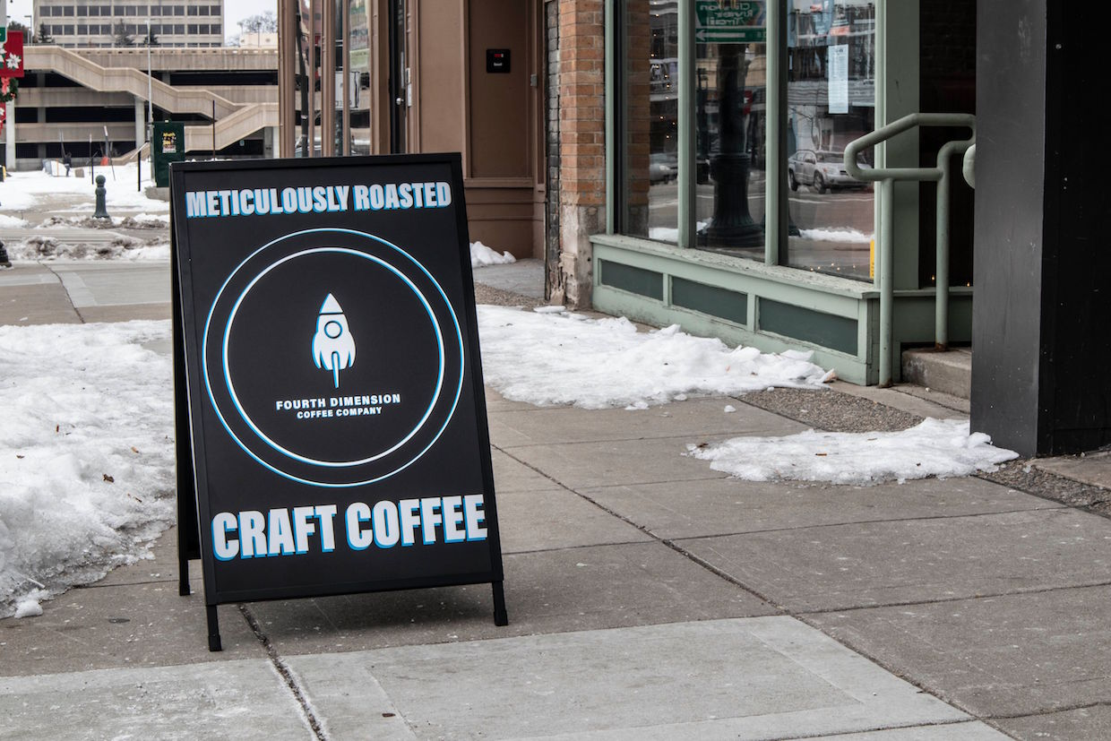 Locally Born Fourth Dimension Opens First Cafe in Pontiac