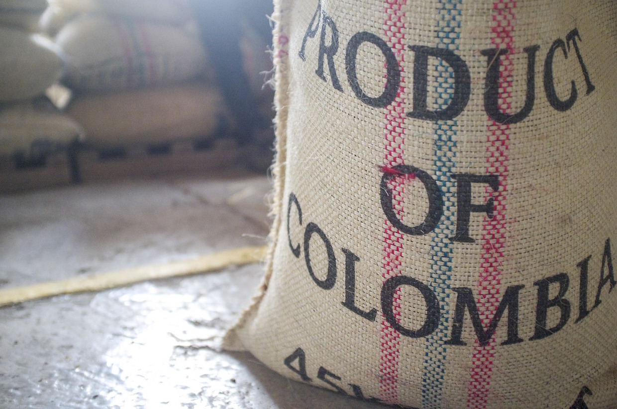 colombian coffee sacks
