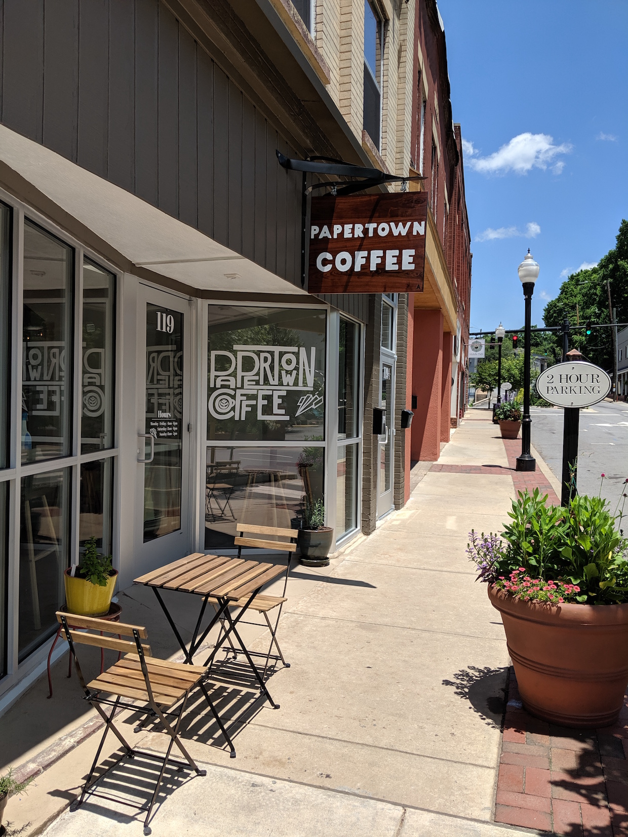 Papertown Coffee NC 1