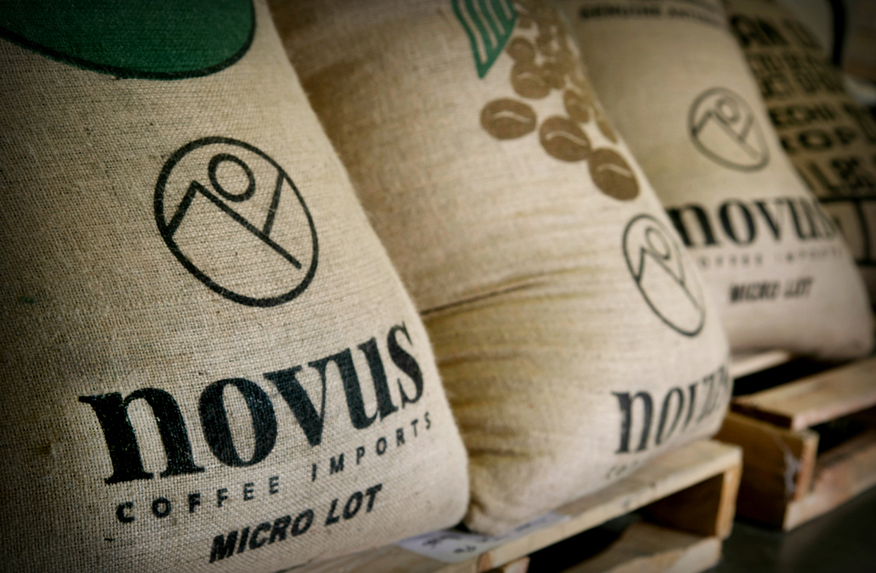 Novus coffee bags