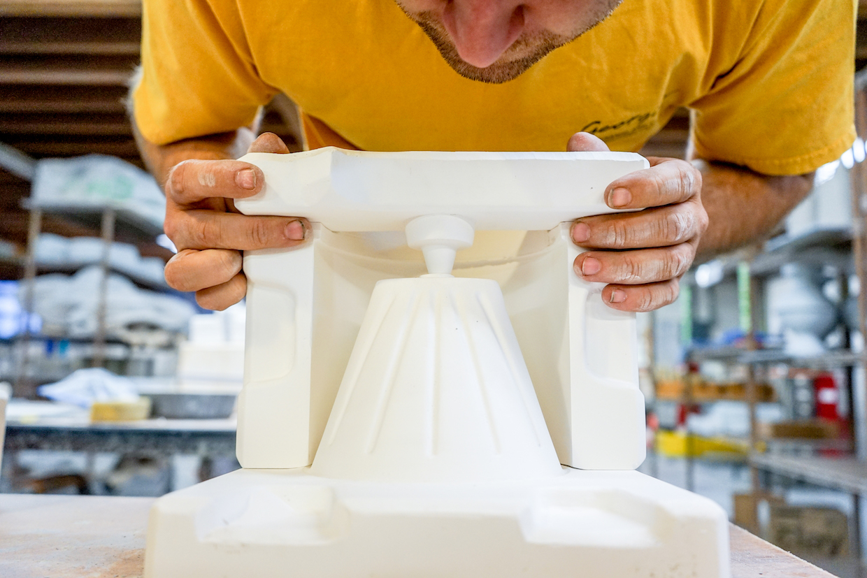 coffee brewer molding