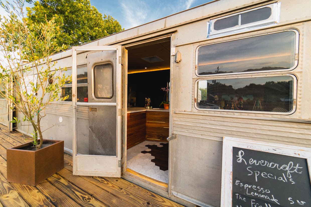 Enter a World of Espresso Charms at the LeverCraft Trailer in Austin