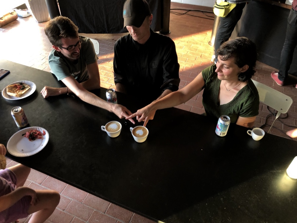 latte art judges