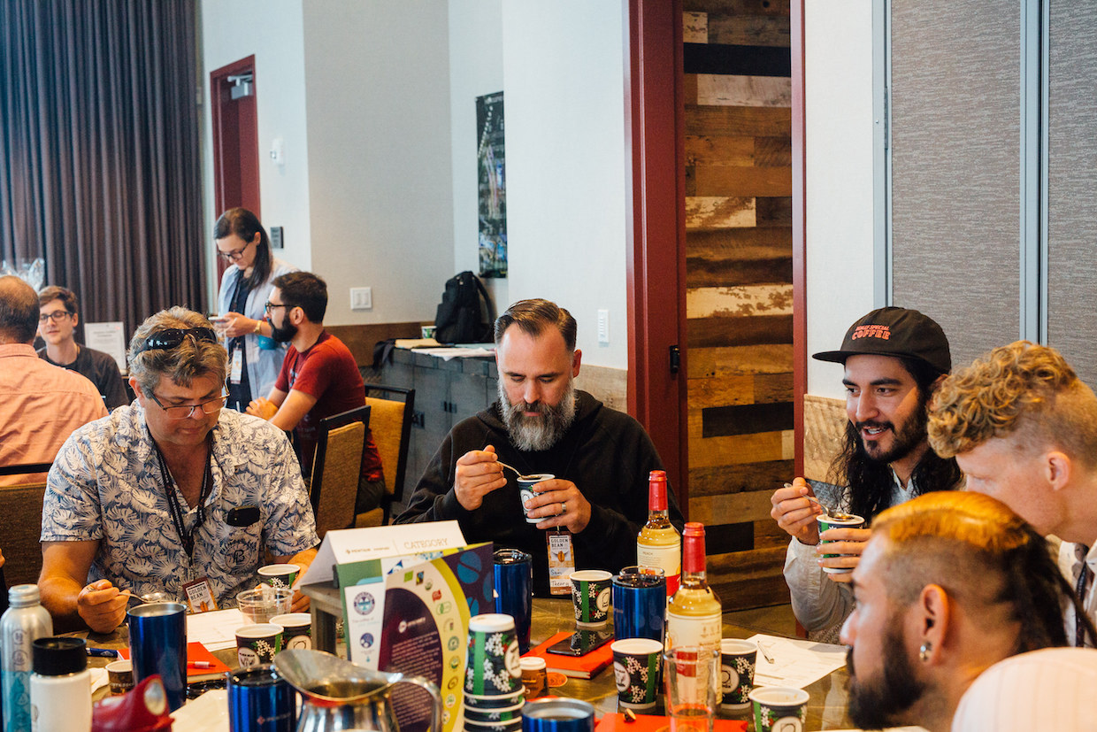 Golden Bean North America cupping