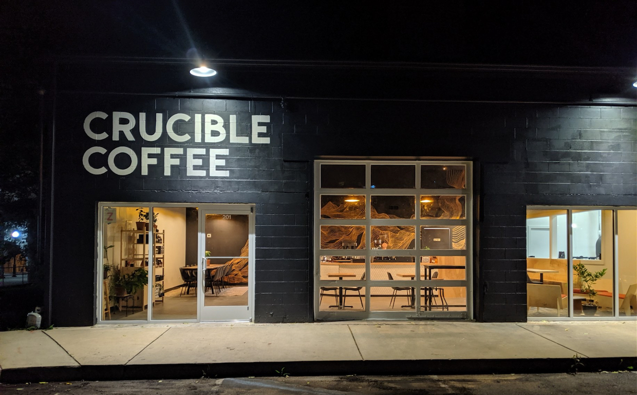 Crucible Coffee Roasters coffee shop