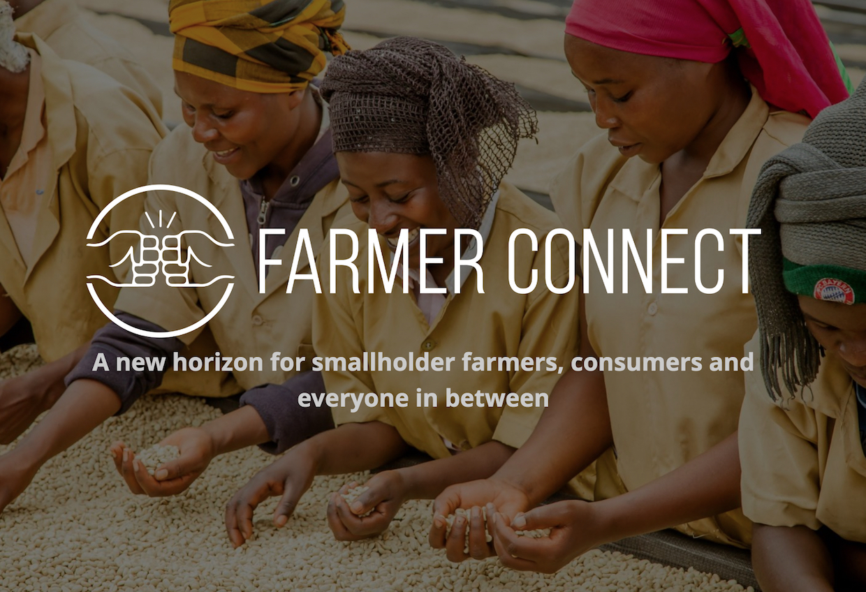 farmer connect blockchain coffee