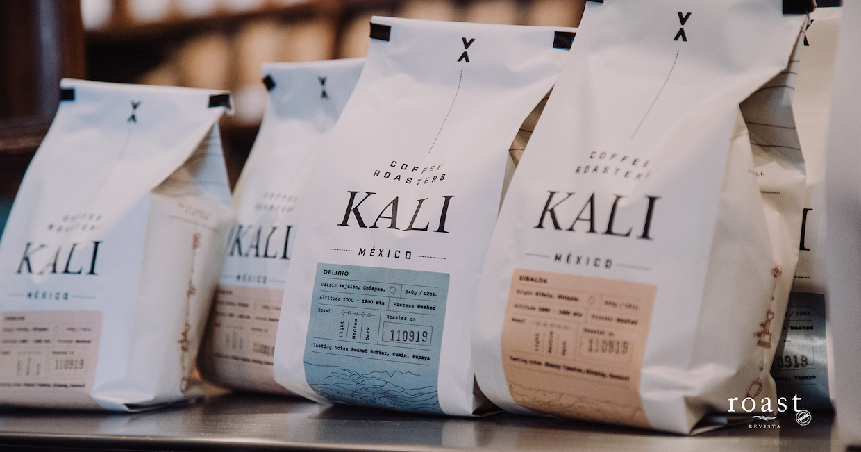 Kali coffee roasters Chiapas