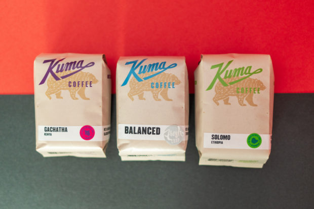Kuma Coffee bags